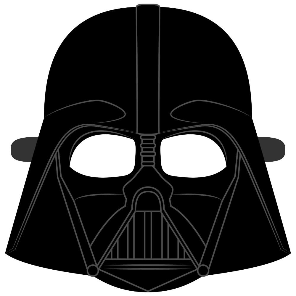Darth Vader Helmet Mask Template   Free Printable ...