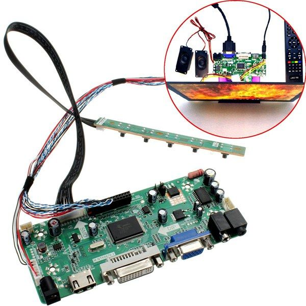 LCD Controller Board HDMI DVI VGA Audio PC Module Kit For