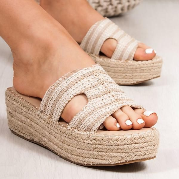 59d84d665 Lovisboutique Shoes Wedge Heel Platform Beige Open Toe Shoes – lovisboutique