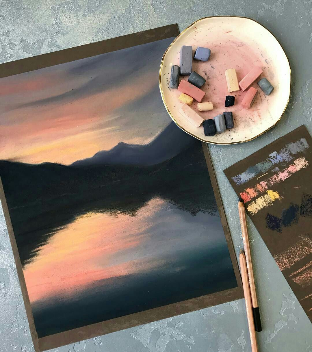 I Ve Never Been Good With Pastels But This Is Inspiring Cool Art