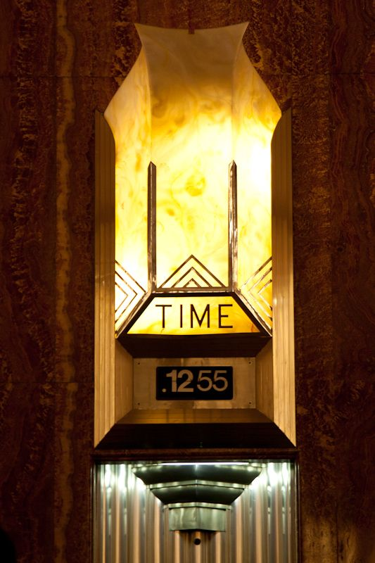 Time Stands Still Inside The Chrysler Building Lobby Chrysler