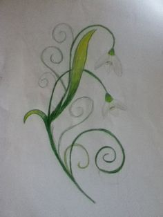 Image Result For Snowdrop Flower Tattoo Meaning Fairy Tattoo Garden Tattoos Flower Tattoo Designs