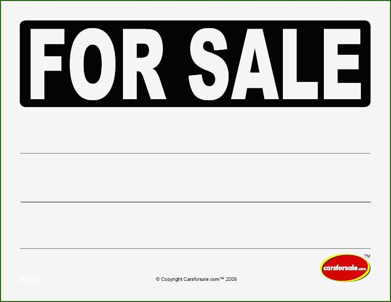Car For Sale Sign Template 20 Intention Of 2020 Sign Templates For Sale Sign Template Printable