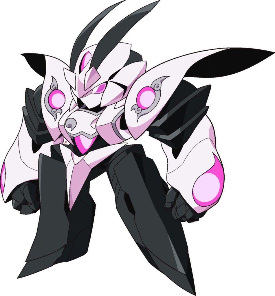 Kuon S Armanox From Anime Granbelm Manga Tokyo Mechas Robot