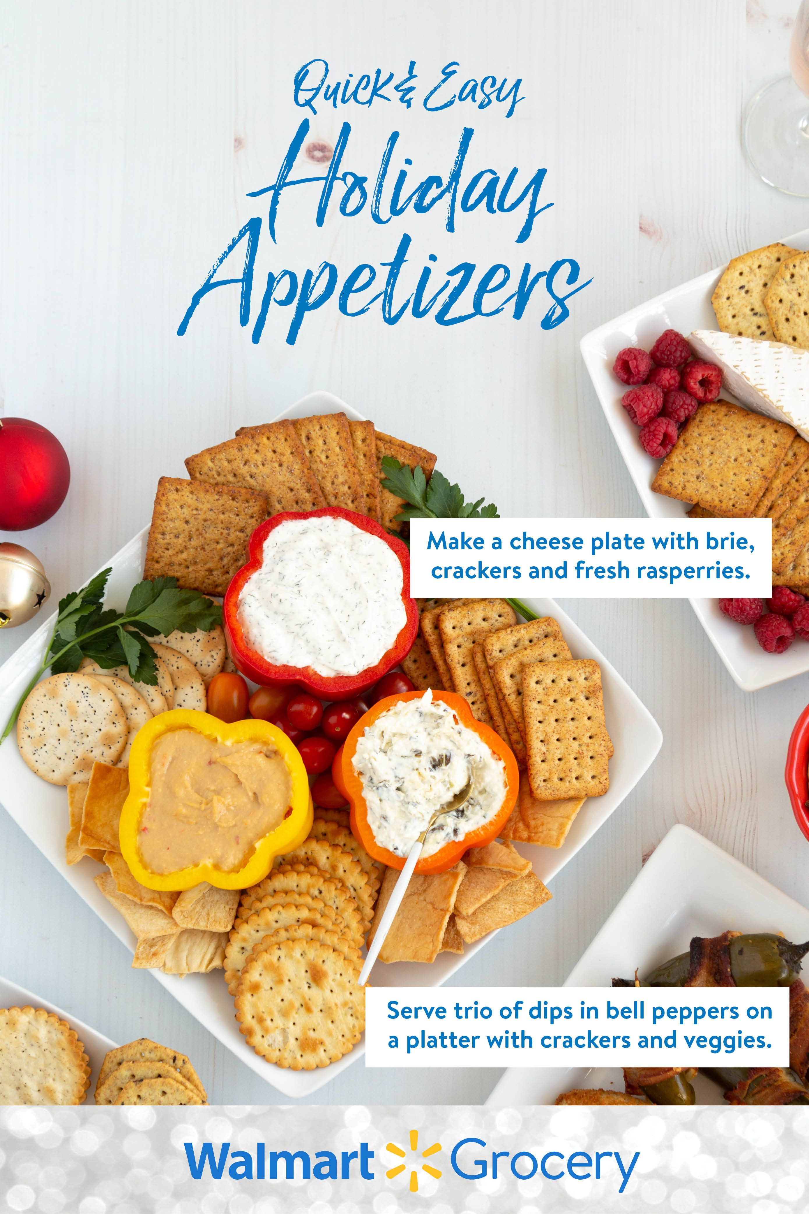 Get quick and easy party apps that you can make in a