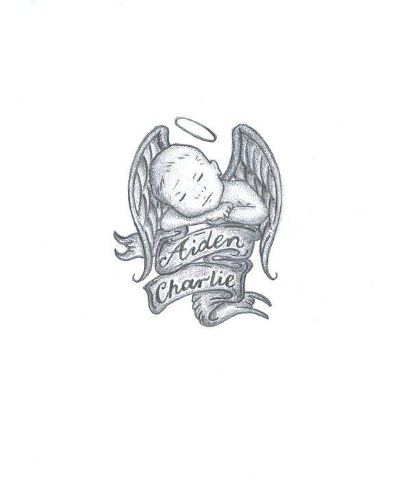 96582bdaa Pin by Toni-Ann Patone-Scollo on TATTOO'S | Baby angel tattoo, Baby tattoos,  Tattoos