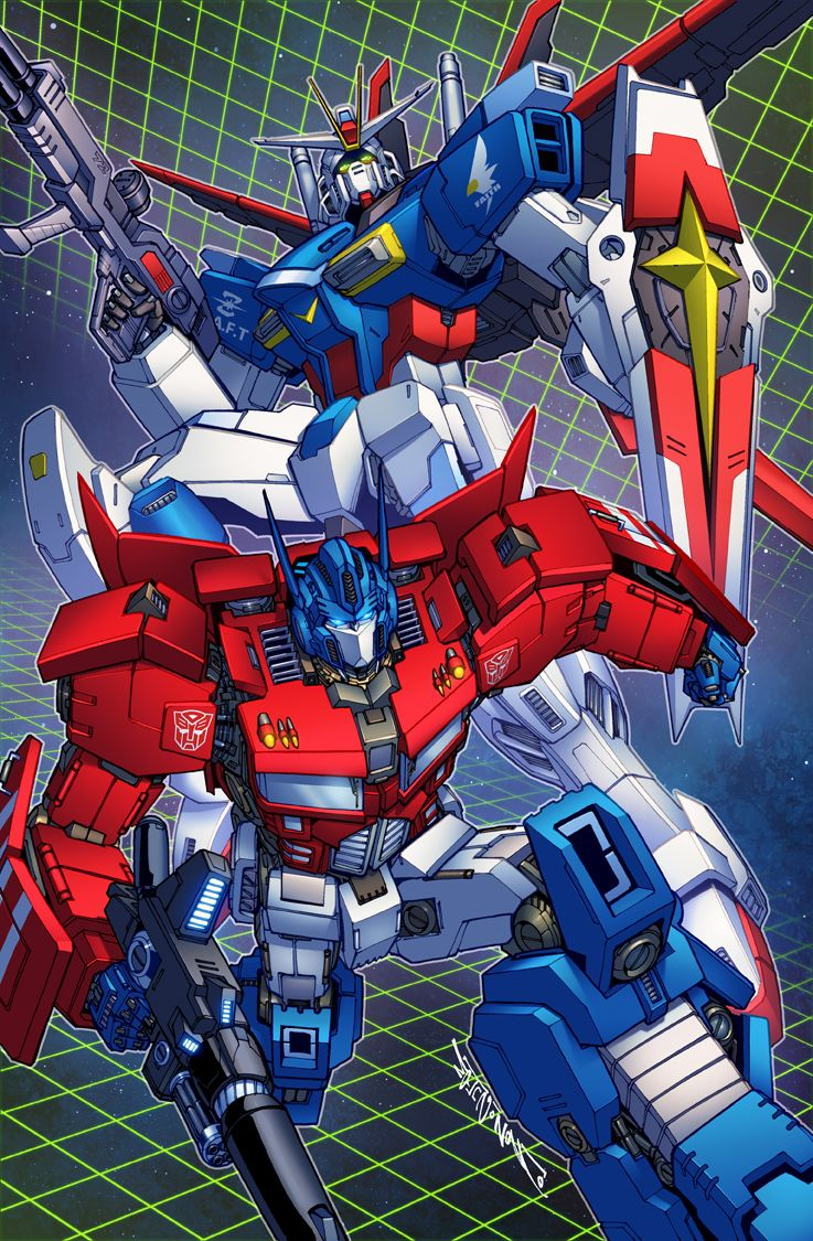 Gundam And Prime Commission Colors By Markerguru On