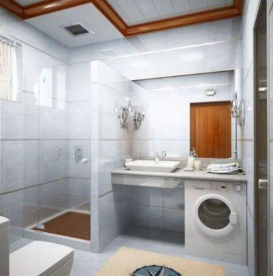 48 Small Laundry With Bathroom Salle De Bain Pinterest Small Amazing Basement Bathroom Design Minimalist