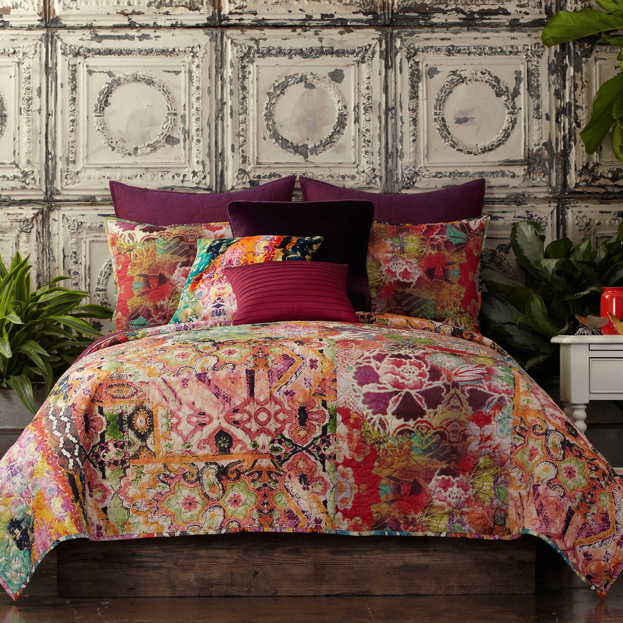 creative unique florals for bohemian king bedding size comforter fabric and quilts geometric quilt full sets designs queen your