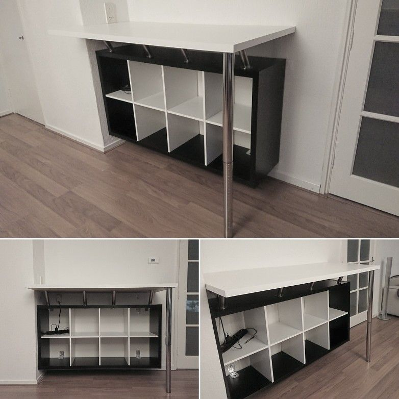 Ikea Kallax Hacks. Bookcase With Swinging Canvas Doors Beautiful ...