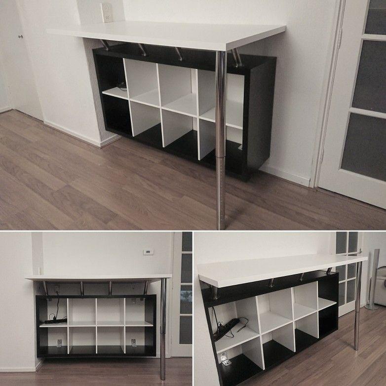 Ikea Kallax Hack Bar Zwevend Home Room Living Room House