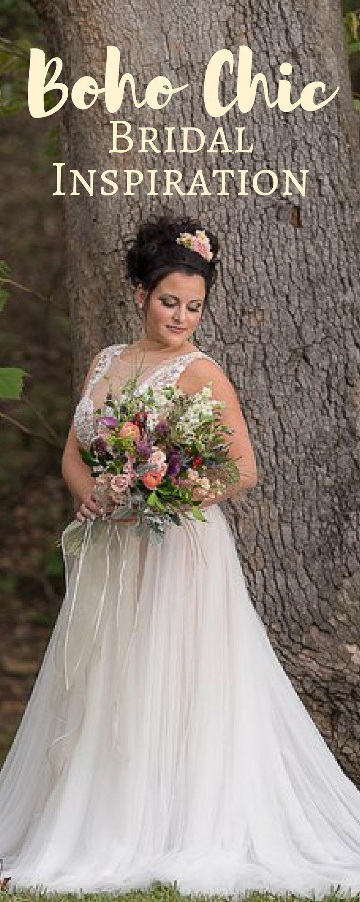 Boho chic bridal inspiration nontraditional wedding diy wedding