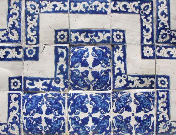 brand new custom hand painted talavera tiles, ceramic tile murals