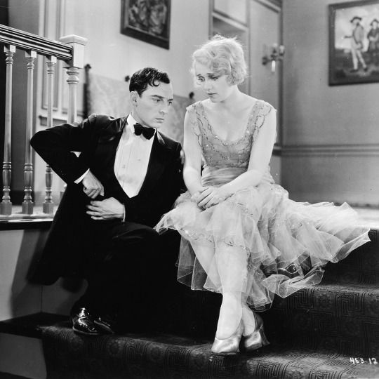 Anita Page with Buster Keaton in FREE AND EASY ('30)