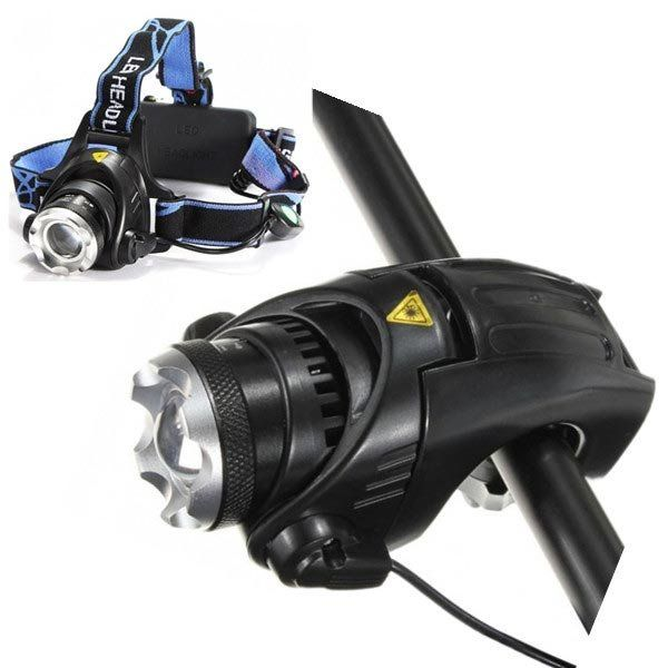 XM-L T6 LED Bike Bicycle Headlight Headlamp Plus Holder