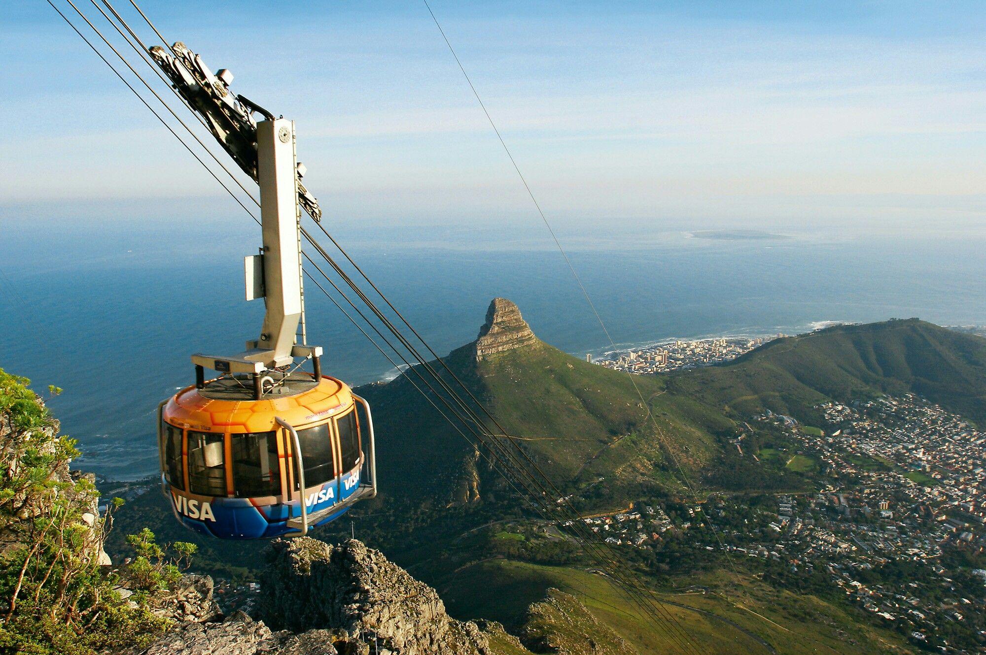 Montaña de la Mesa,Table Mountain (Natura Reserve),Ciudad del Cabo,  Sudáfrica | Ciudad del cabo, Lugares del mundo, Viajes