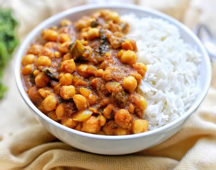 Curry de pois chiches au thermomix - Recette Thermomix