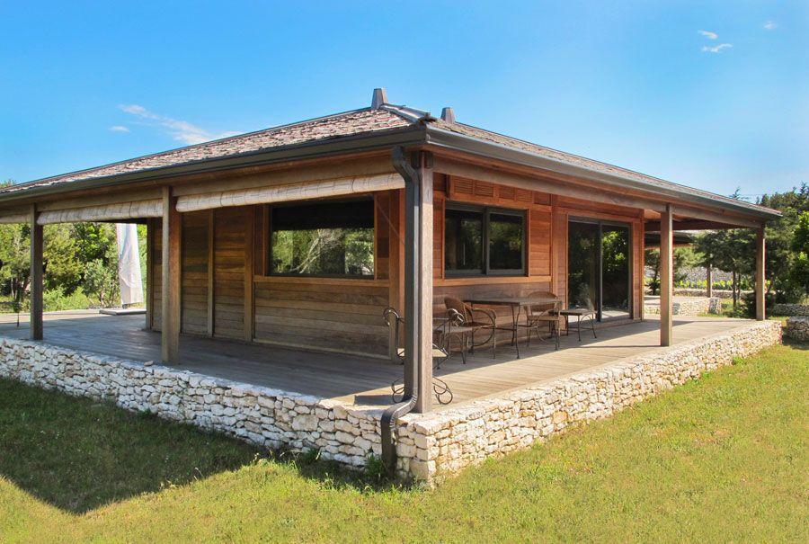 Fondation dune maison bois mobiteck constructeur bungalow kit
