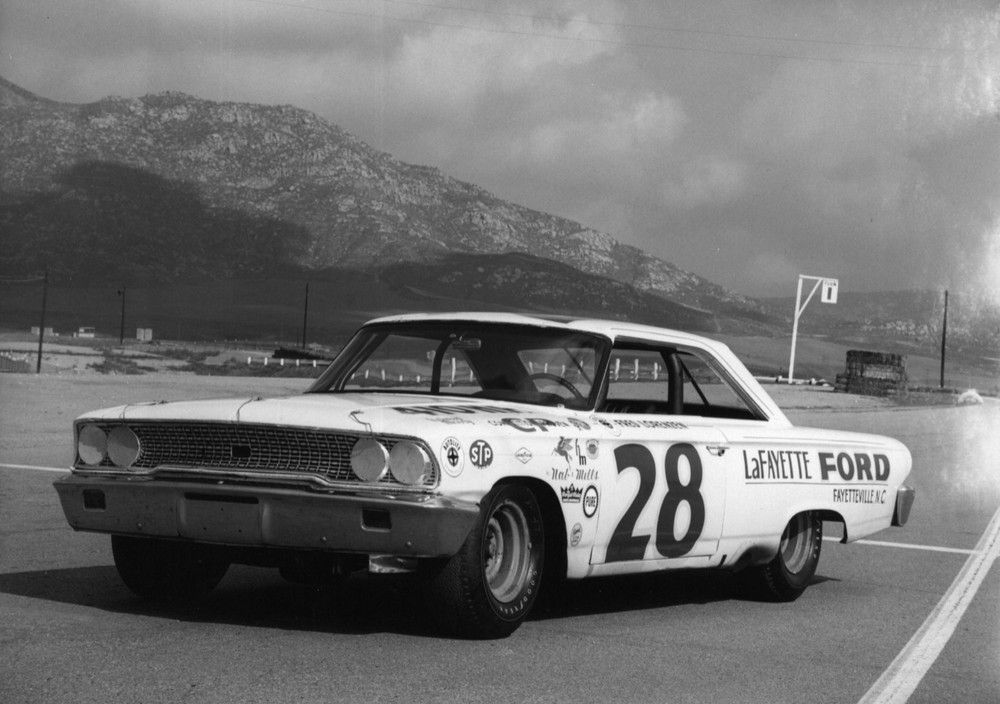 The Real Cars Of Nascar In The 60s With Freddie Lorenzen Ford