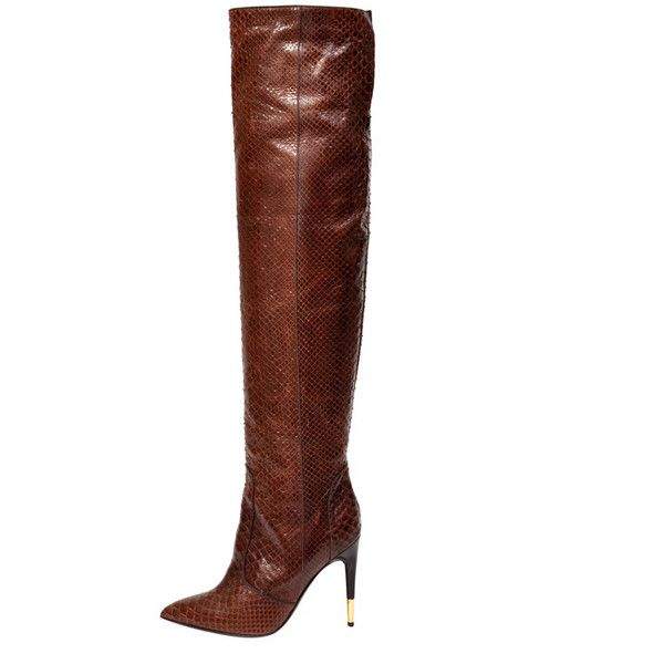 Pre-owned - Python boots Tom Ford wzuH38