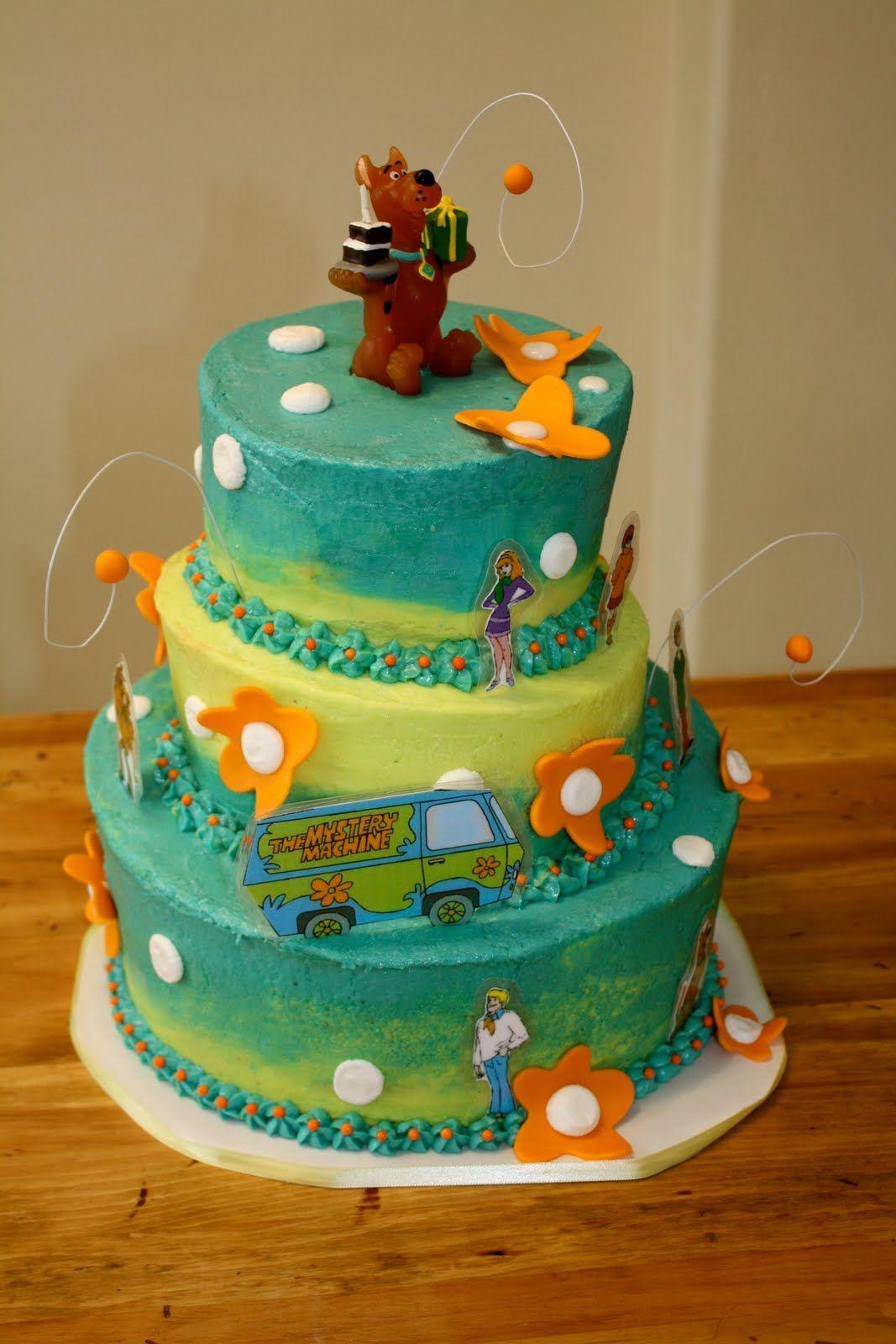 The Scooby Doo Cake