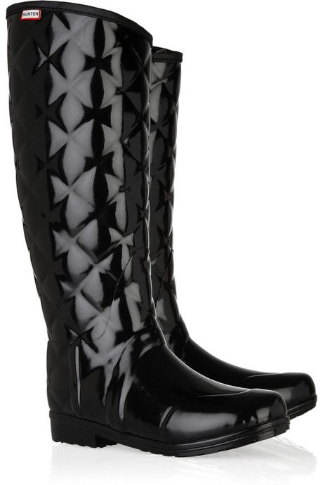 aeff653c7dfb rain boots by Hunter
