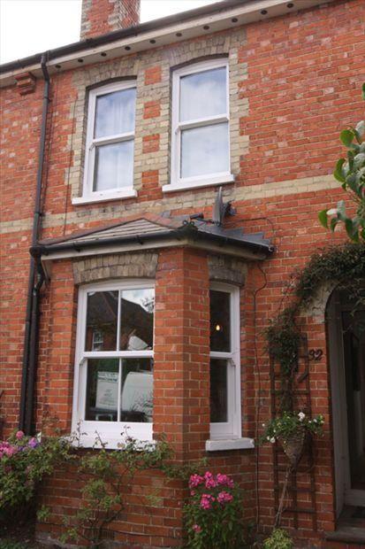Upvc Sash Windows Love These Terraced Houses