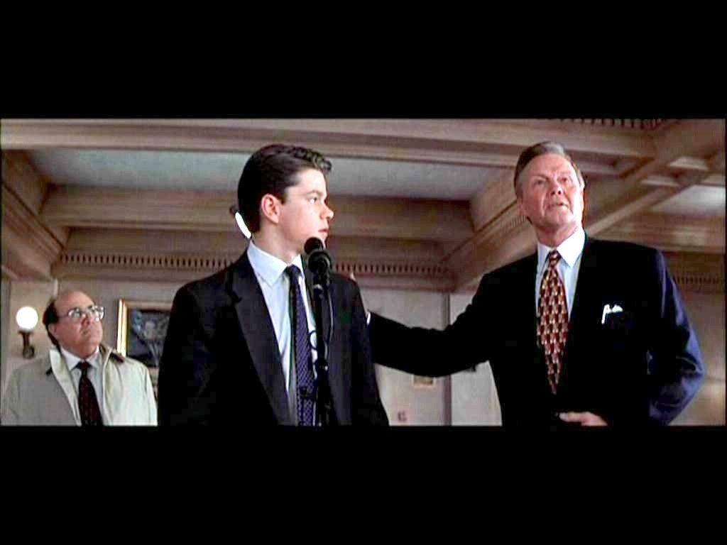 Rudy Baylor Leo F Drummond Deck Shifflet Matt Damon Jon Voight ...