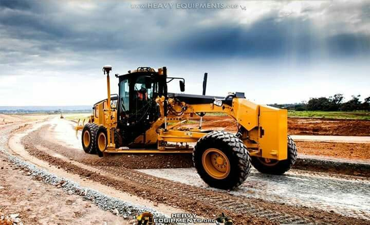 Cat Grader Heavy Equipment Tractors Construction Machines