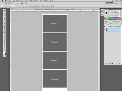 Photoshop Photo Booth Template File photoshop tips Photo booth