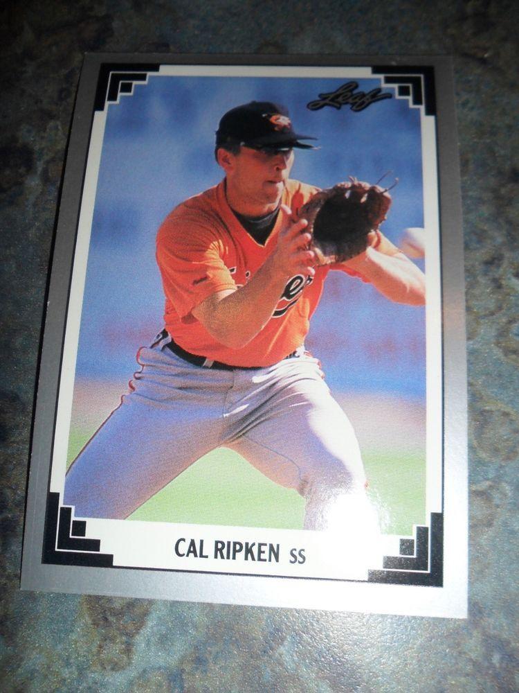 Park Art My WordPress Blog_1991 Leaf Baseball Cards Complete Set Value