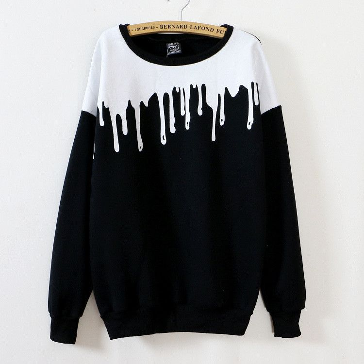 50264fc71bcb4b Moletom B&W - Comprar em Vittie Store | Sudaderas ❤ | Fashion ...