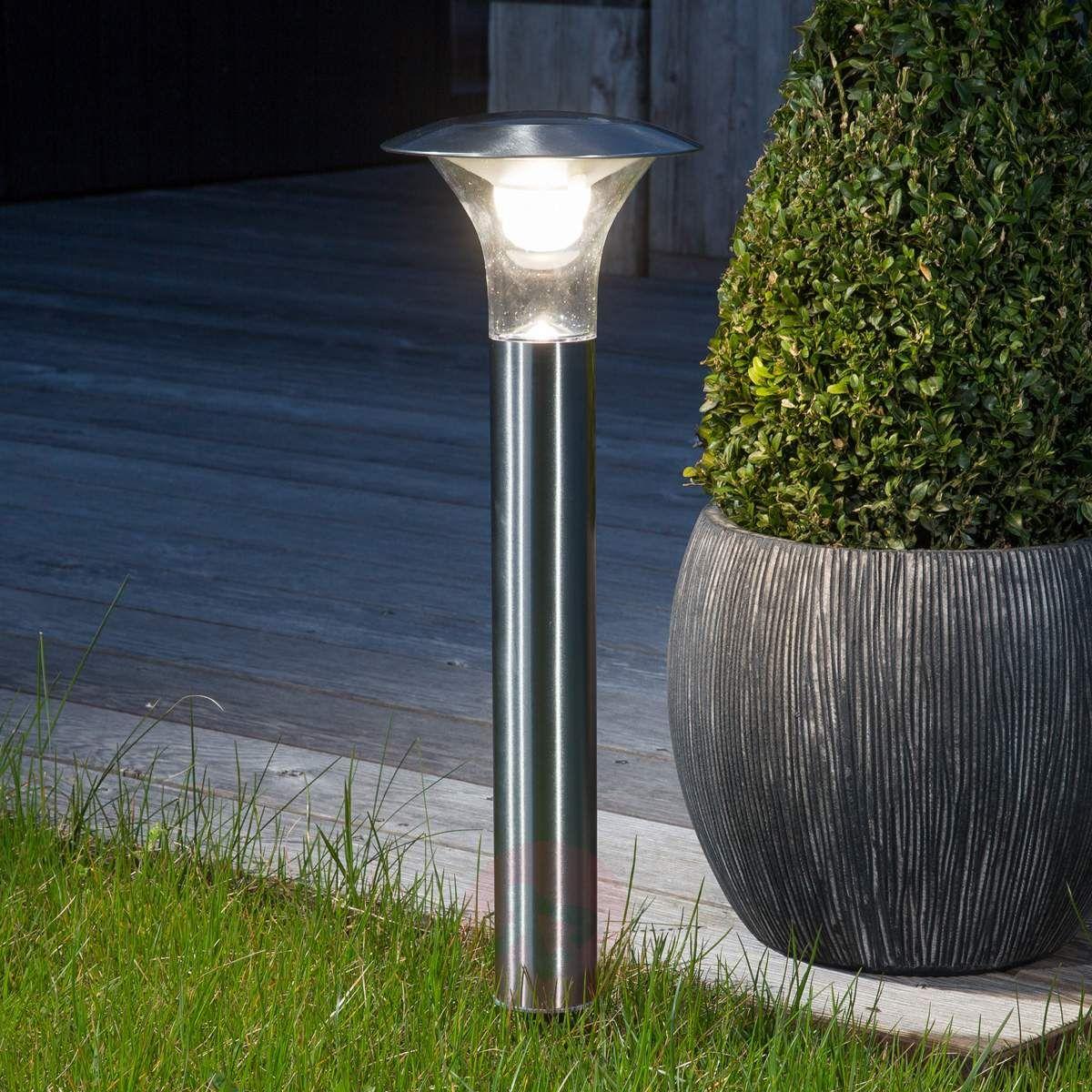 Lampa Solarna Jolin Z Led I Grotem Ziemnym Lampy Solarne