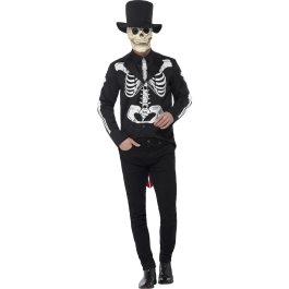 Voodoo Tie Deluxe Day of The Dead Skeleton Jacket