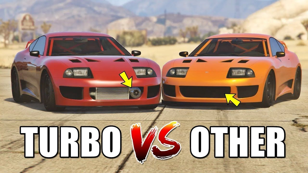 GTA 5 ONLINE - TURBO VS ALL OTHER PARTS (WHICH IS FASTEST?) | GTA 5