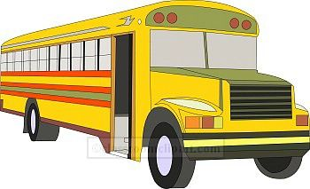 School Bus Clipart Sturgis Composite High School Clipart Best
