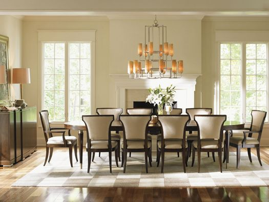 Tower Place Drake Oval Dining Table - Lexington Home Brands Dining