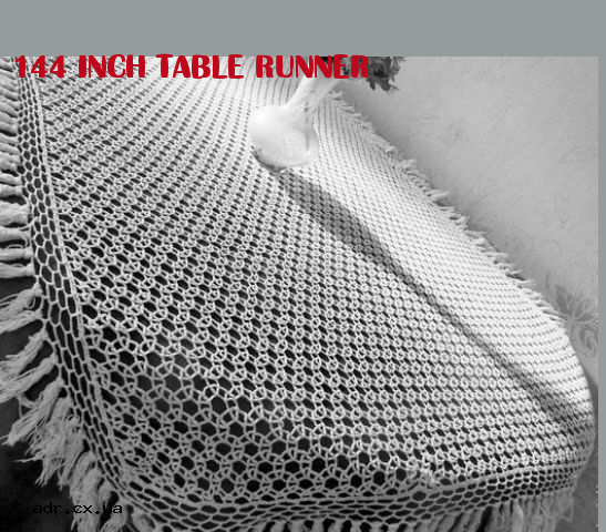 144 Inch Table Runner
