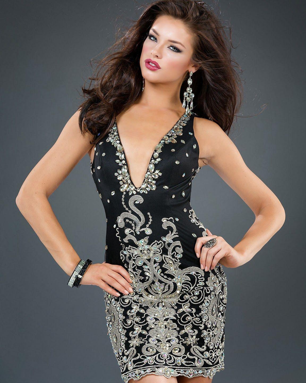 Moda 2014 vestidos de noche para gorditas