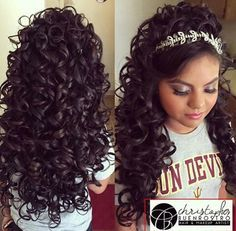 Quince Hairstyles Adorable Quinceanera Hairstyles 2016  Google Search  Quince  Pinterest