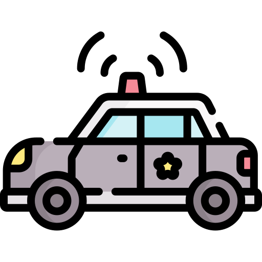 Police Car Free Vector Icons Designed By Freepik Free Icons Vector Icon Design Vector Free