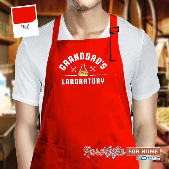 This Is What An Awesome Grandad Looks Like Funny Grandpa Kitchen Cooking APRON