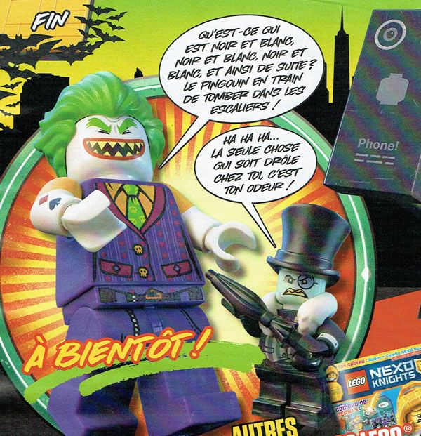 Le second (et dernier ?) n° du magazine The LEGO Batman