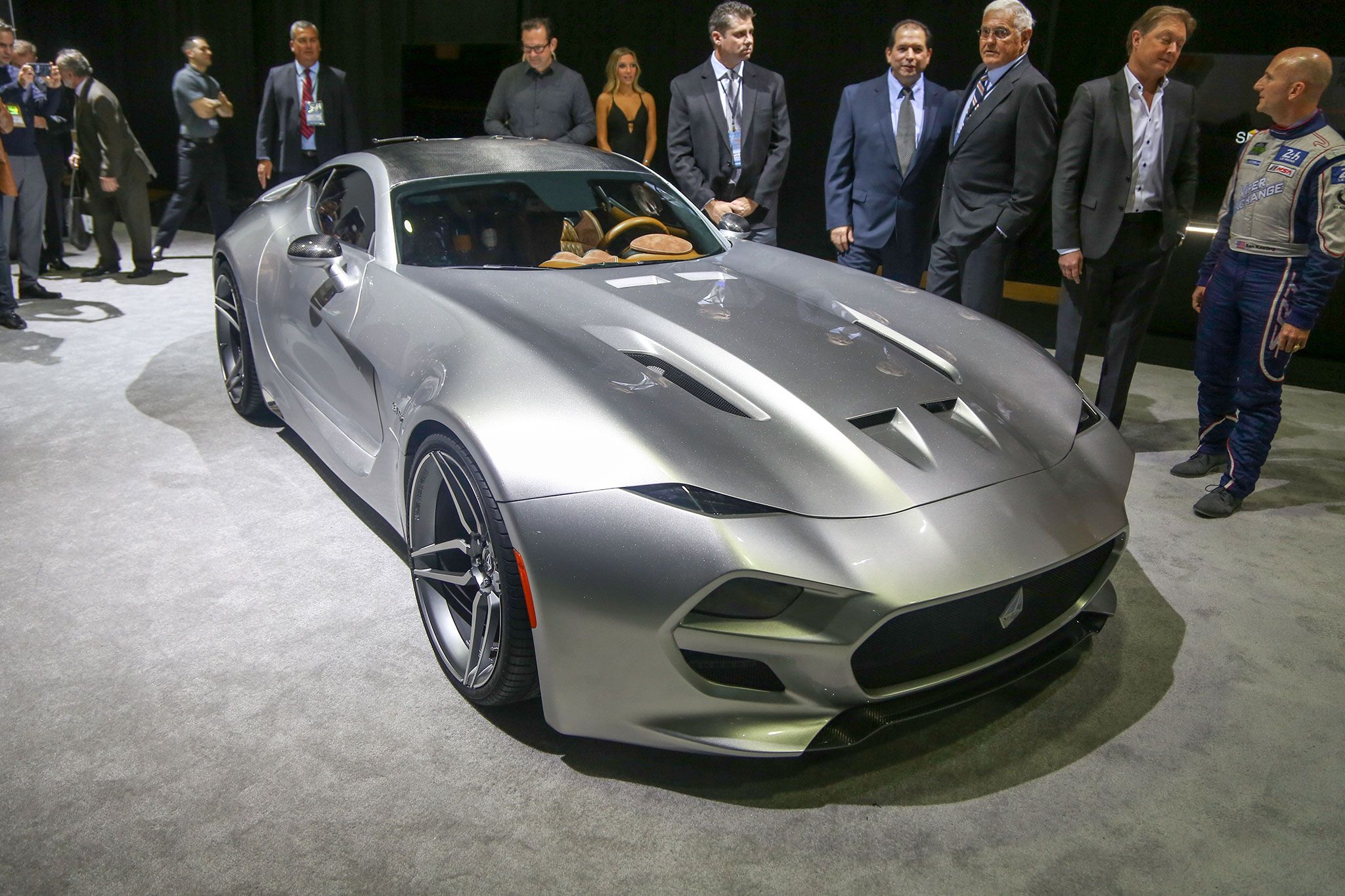 Force Billed As American Sports Car With No Excuses In Detroit - American sports cars 2016