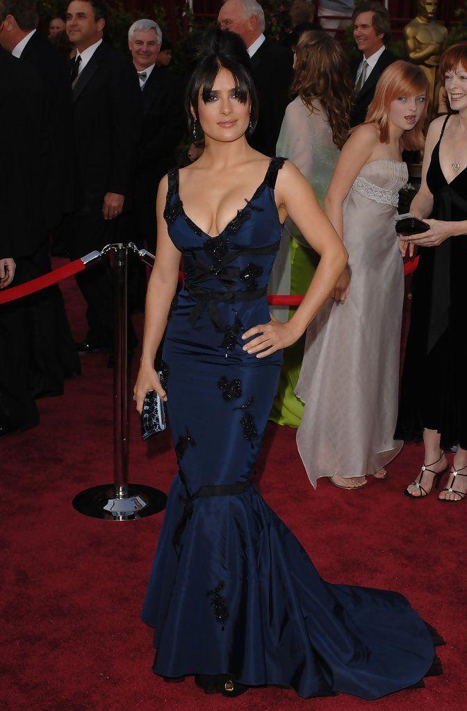Salma Hayek Photos Photos: 77th Annual Academy Awards