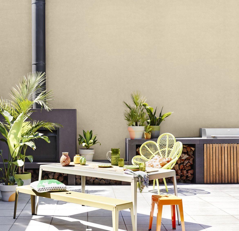 Paint Colors Adobe And Exterior Paint Colors: Modern Exterior - Get The Look, Dulux Paints #hogbristle #ottosboy #outdoorpaints