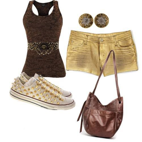 Spring Outfits for Women | fabulous casual wear for women...good shorts won't work but ib LOVE this shirt!