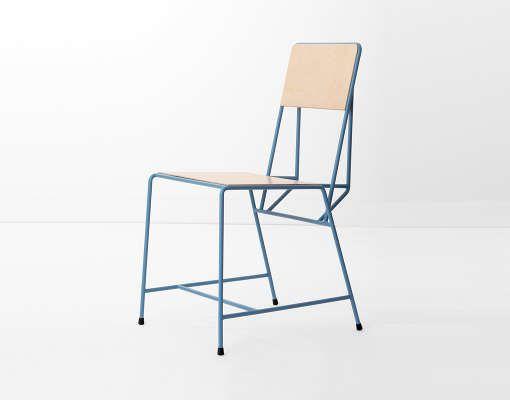 Kranen/Gille . hensen chair, by New Duivendrecht