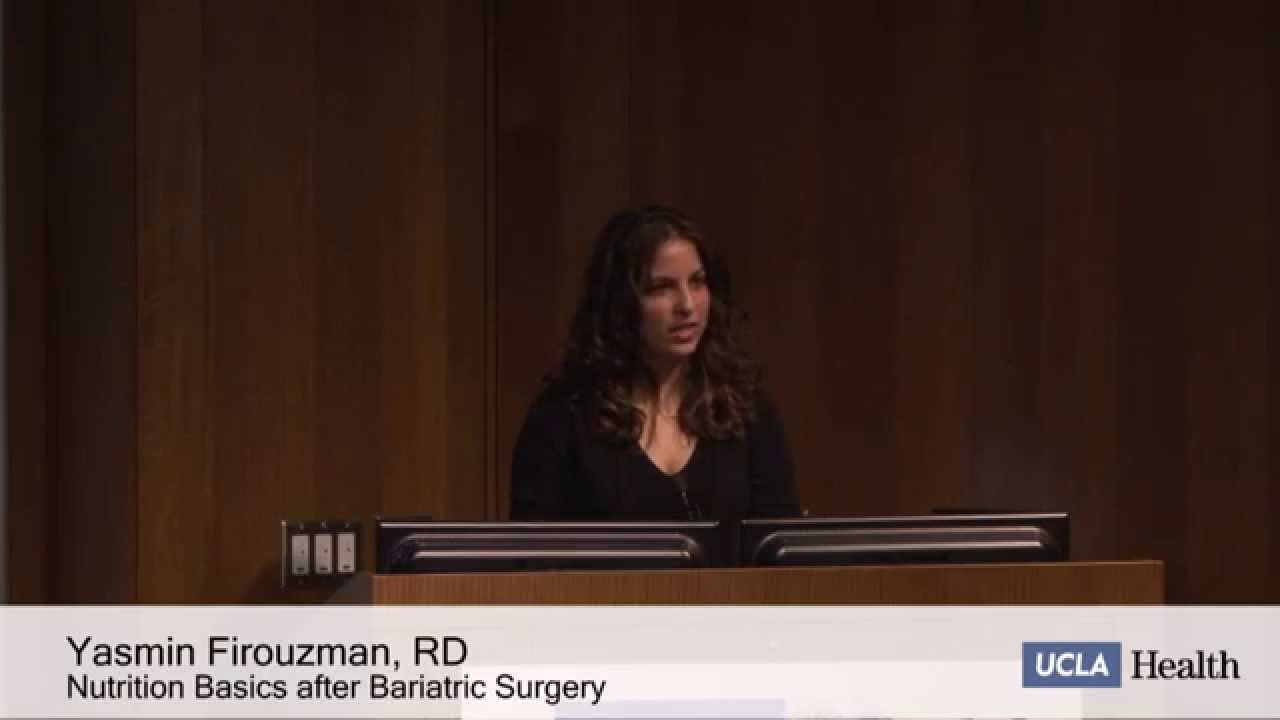Nutrition Basics for Success After Bariatric Surgery | Yasmin Firouzman ...