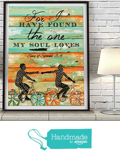 For I have found the One my Soul loves - Danny Phillips UNFRAMED ART PRINT, Songs of Solomon 3:4 -Biking Bicycle Cycling wall decor poster wedding engagement Anniversary gift for her from Art for the Masses https://www.amazon.com/dp/B01BTAYIT8/ref=hnd_sw_r_pi_dp_AV9cyb53WTXRK #handmadeatamazon